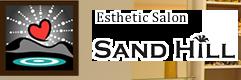 大阪 北区 ドクターリセラ メディカルエステサロン 天満駅近くのSAND HILL~サンドヒル~のフッターロゴ